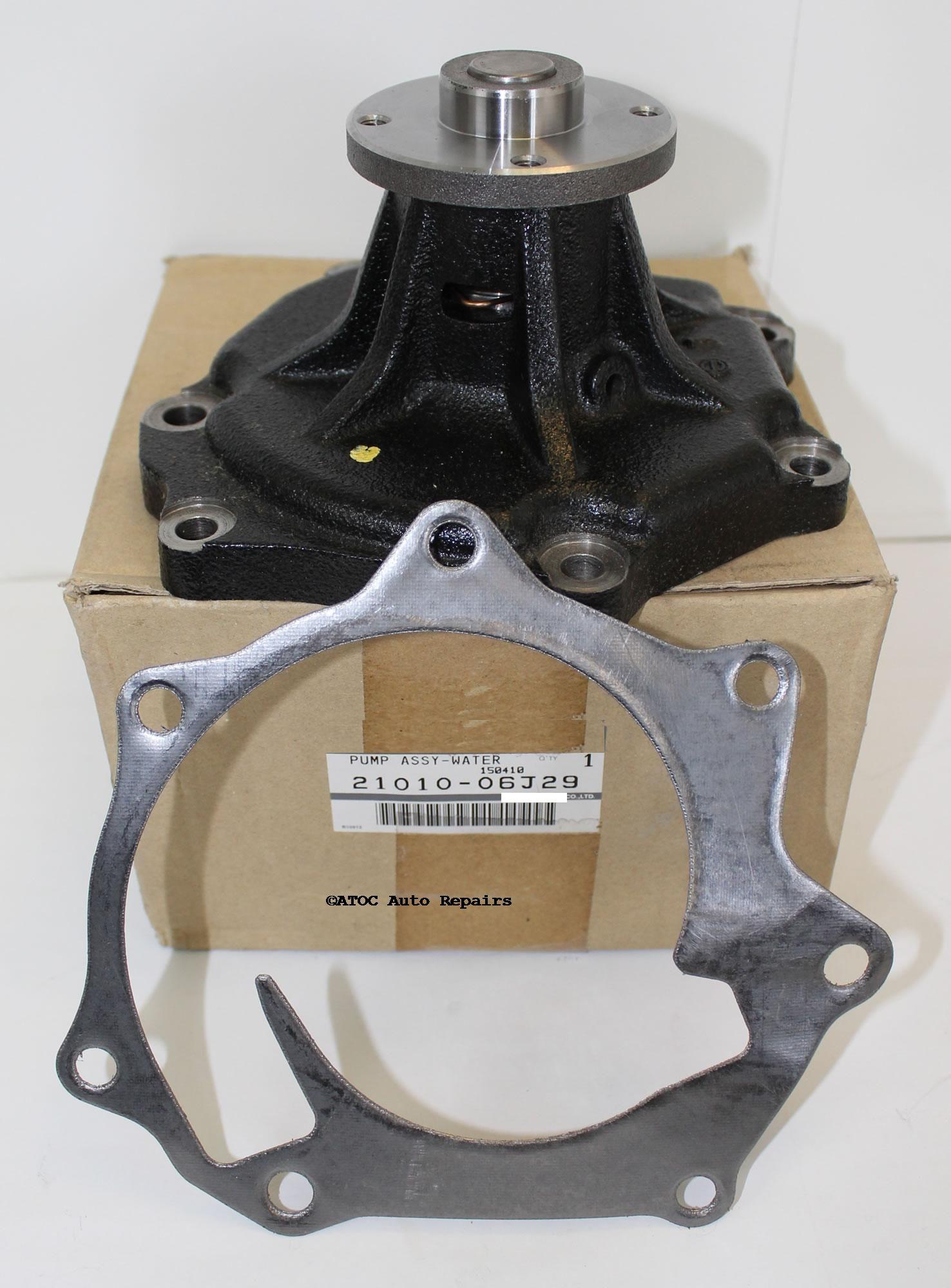 97-07 - for Nissan Patrol GU Y61 TD42 TD42T Water Pump GMB