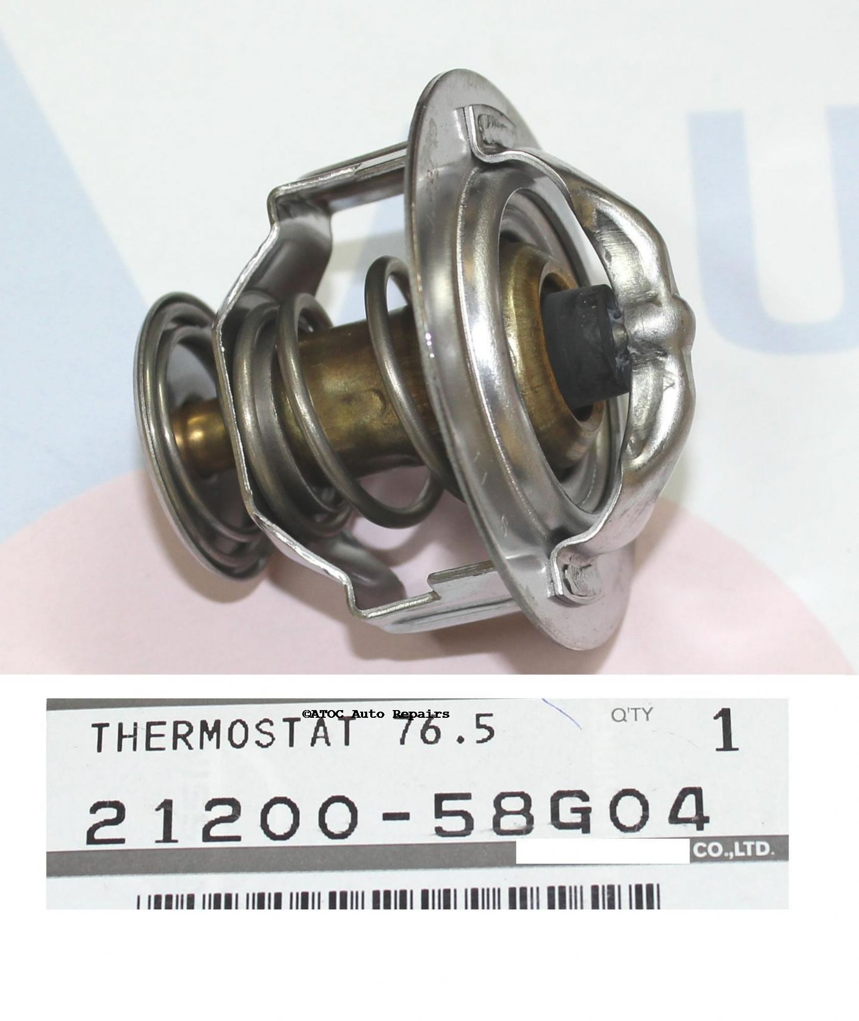 how to change thermostat in nissan patrol