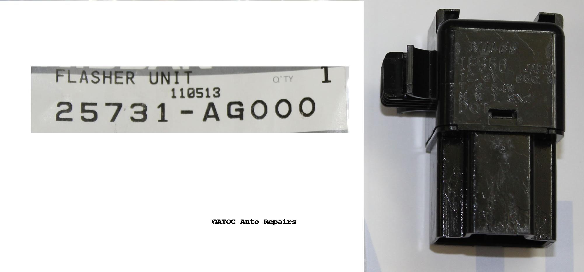 25731AG000 Nissan Navara Rear Light Wiring Diagram on