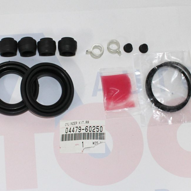 OEM Genuine REAR Brake Caliper Reseal KIT to fit Landcruiser UZJ100 & HDJ100 built 12/02 > ON *** see further information***