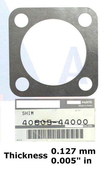 OEM Genuine swivel housing bearing preload adjusting shim .127 mm .005